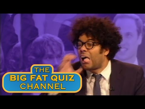 Richard Ayoade Knows The Proper Way to Get Rid of People - The Big Fat Quiz