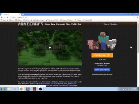 How To Get Minecraft Free Glitch