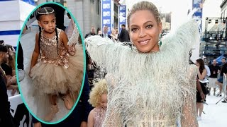 Beyonce and Blue Ivy Carter Shut Down the VMA Carpet in Glamorous Gowns