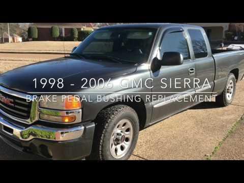 1999-2006 GMC Sierra / Chevy Silverado loose / vibrating Brake Pedal Fix