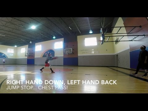 Back to the Basics: Dribble Jump Stop Passing Drill
