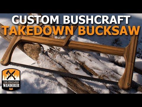 Custom Bushcraft Takedown Bow Saw