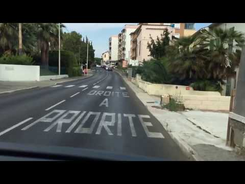 Bus 200 Cannes - Nice Timelapse