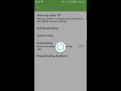 How to call as private number on Samsung s6/s7/edge