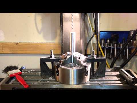 Making a Home Made Silencer Part 4: Drilling and Threading.