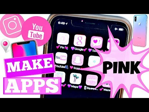 Hacks To Make Your Apps Look Cool NO JAILBREAK! | iPhone X  + Android