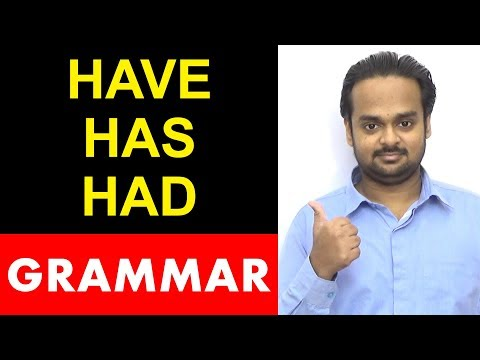 Basic English Grammar - HAVE, HAS, HAD - LIVE Workshop Replay - Examples & Exercises for Correct Use
