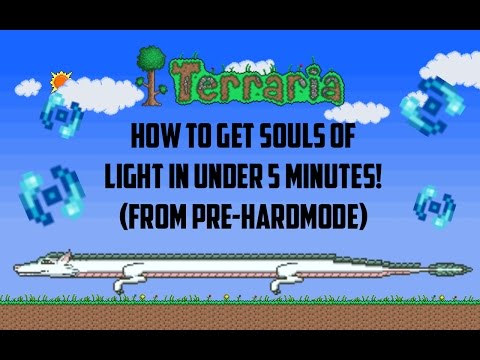 Terraria ios 1.2.4 | How to get souls of flight in under 5 minutes (From a brand new world)