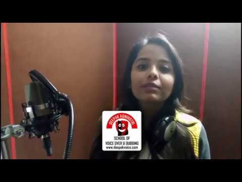 Films, Cartoon Dubbing Voice Over Training in Delhi NCR