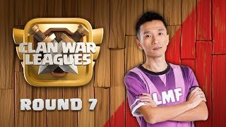 Clan War Leagues Season 3 - Round 7 - Clash of Clans War Strategy