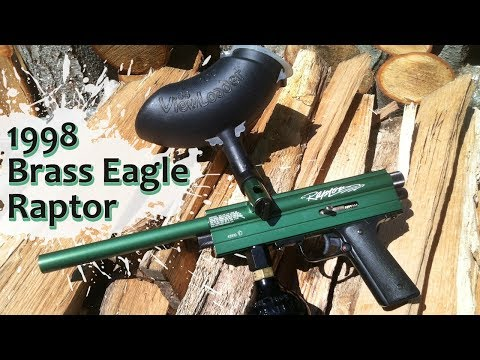 1998 Brass Eagle Raptor Paintball Marker