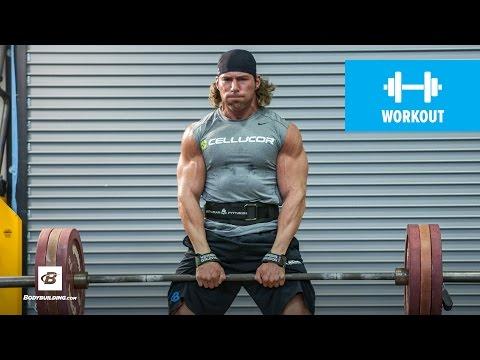 Heavy Volume Leg Workout | Craig Capurso