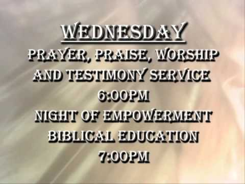 Sample Church Invite