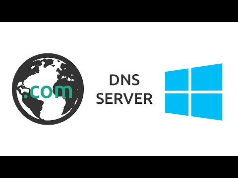 How to setup a DNS Server on Windows