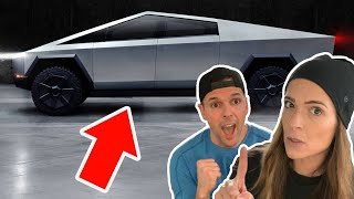 I TOLD HER I BOUGHT A TESLA CYBERTRUCK! (FREAKOUT)