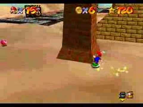 Super Mario 64 - Free-Flying for 8 Red Coins