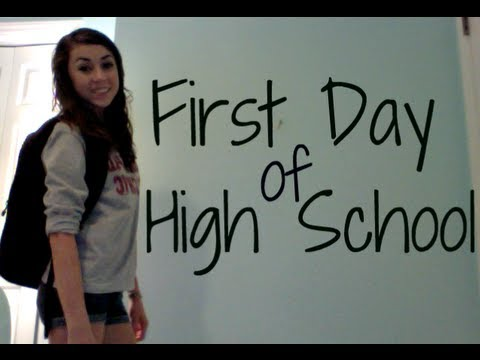 GET READY WITH ME! First Day Of High School!!