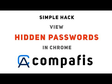 How to view hidden passwords | CA