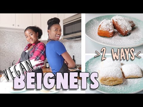 How to make Vegan Beignets | Ft. RAVO