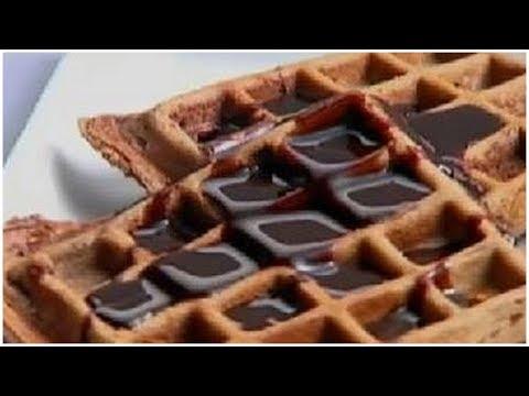 Chocolate Waffles - Sanjeev Kapoor - Khana Khazana