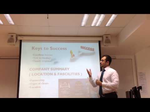 Presentation on business plan-