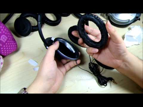 How to change Bose® Triport® /Around Ear/ AE Headphone earpads