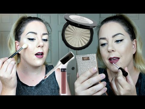 NikkieTutorials x Ofra Cosmetics Collab! SWATCH + TRY-ON + REVIEW | MakeupbyMegB