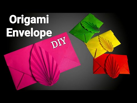 Envelope   How To Make An Envelope   Easy Origami Envelope Tutorial   DIY Envelop Without Glue