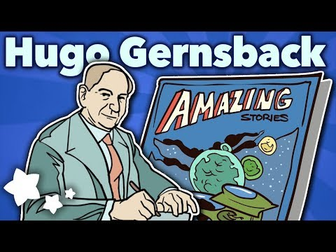 Hugo Gernsback - Pulp! Amazing Stories - Extra Sci Fi