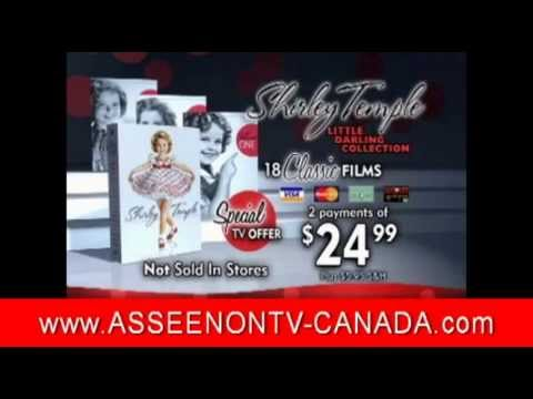 Shirley Temple DVD Collection As Seen on TV Canada