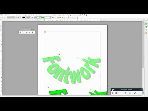 FONTWORK - OpenOffice Writer