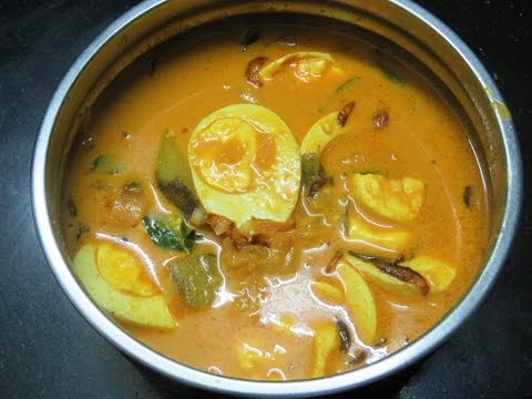 Nadan mutta curry/Kerala style egg curry  with coconut