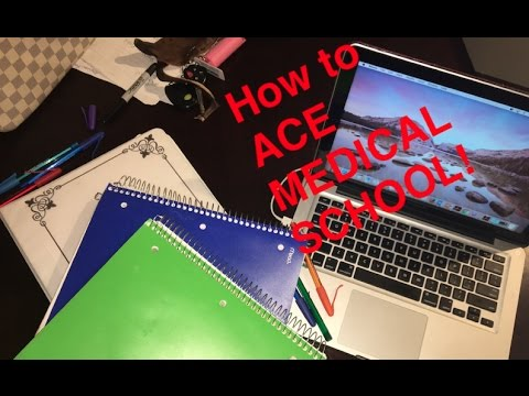 Study TIPS and TRICKS to ACE MEDICAL SCHOOL!