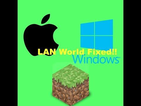 MAC AND WINDOWS LAN WORLD FIXED!!!