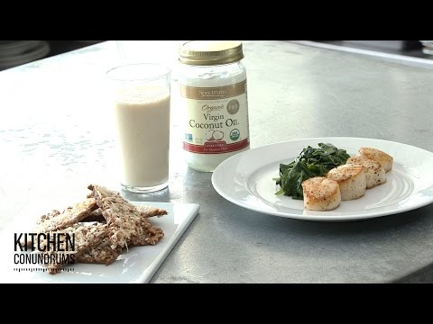 Pantry Hack: 3 Coconut Oil Recipes - Kitchen Conundrums with Thomas Joseph