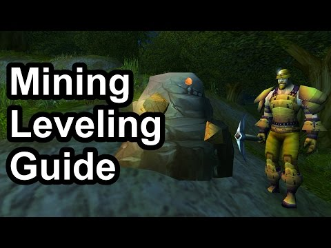 1 - 300 Mining Leveling Guide (1 12 1) [WoW Classic]