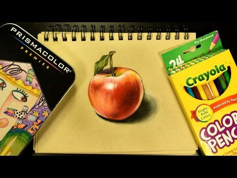 How I Blend Colored Pencils