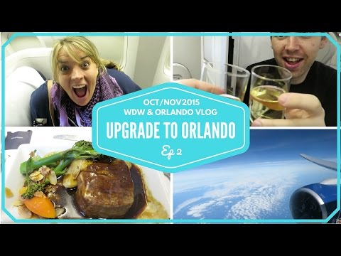 Walt Disney World & Orlando Vacation 2015 | Flight to Orlando and Arriving at Cabana Bay Resort