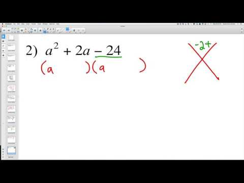 Solving Quadratic Expressions 2