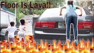 Floor Is Lava Challlenge
