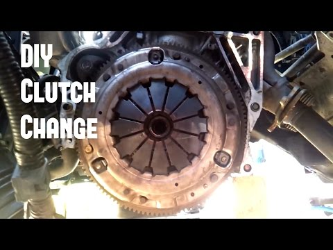 DIY Clutch Replacement