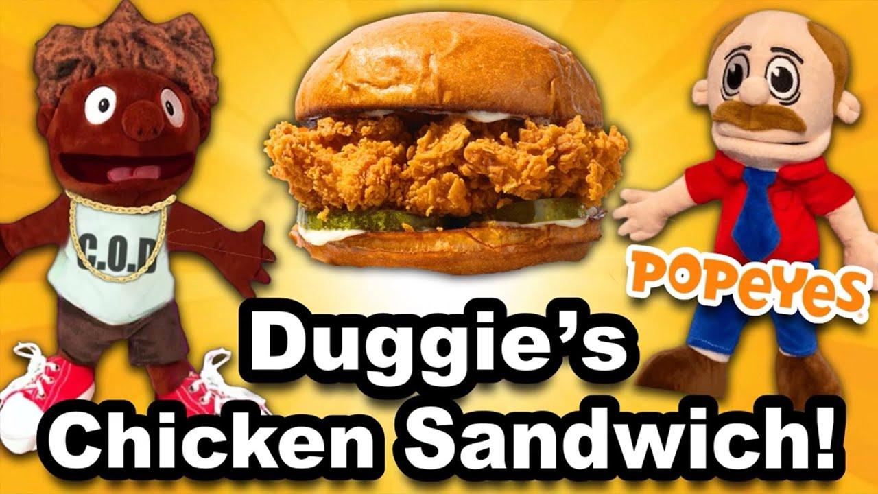 SML Movie: Duggie's Chicken Sandwich!