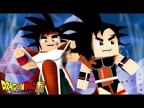 Minecraft - DRAGON BALL TEORIAS 2 - E SE O BARDOCK SE VIRASSE UM SUPER SAYAJIN CONTRA O FREEZA ! EP3