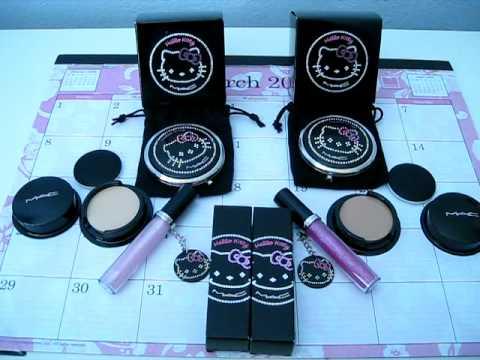 MAC Hello Kitty Kouture Collection Haul