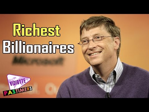 Top 10 Richest Billionaires on Earth 2015