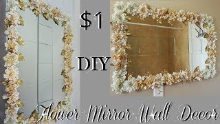 Diy Wall Mirror Using Cereal Boxes Quick And Easy Wall Mirror Idea