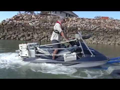 Jetski Fishing NT