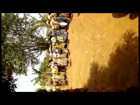 African funeral (Bamiléké) crowd lamentations,En mémoire de Papa Ino.