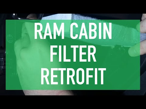 How to Install Ram 1500 Cabin Filter