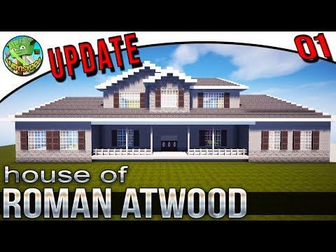 Minecraft Update of Roman Atwood's House 01